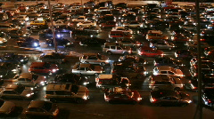 Stock Video Footage of traffic time lapse night long