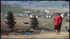 Kaprun, Austria, 1960s (vintage 8 mm amateur film) Stock Footage