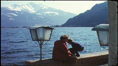 Zell am See, Austria, 1960s (vintage 8 mm amateur film) Stock Footage