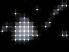 Blinking LED Light Sequencer 4 Stock Footage