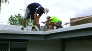 Stock Video Footage of roof insulation 2