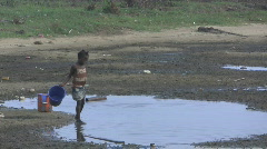 Water Famine in Africa Stock Footage