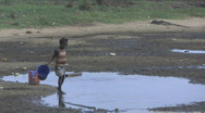 Stock Video Footage of Water Famine in Africa