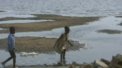 Water Famine in Africa - stock footage
