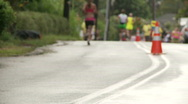 Stock Video Footage of kauai marathon runners