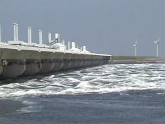 Dutch DeltaProject Stock Footage