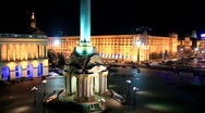 Stock Video Footage of Square of independence in Kiev, Ukraine