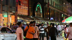 Little India Stock Footage