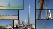 Stock Video Footage of Dubai UAE Montage