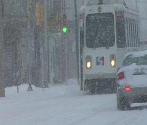 Septa Trolley - stock footage