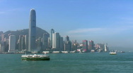 Stock Video Footage of Hong Kong Island (timelapse)