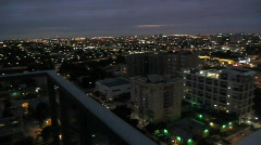 Downtown Miami Night #1 Stock Footage