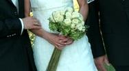 Bridal Couple Stock Footage