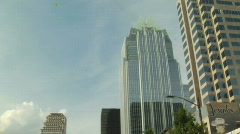 Congress Avenue Frost Bank Tower Stock Footage