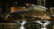 Stock Video Footage of Esplanade Domes
