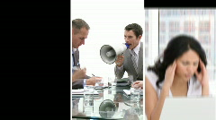 Stress in Business - stock footage