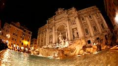 Fontana di Trevi, Rome Stock Footage