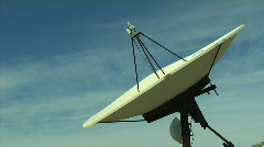 Satellite Dish Time Lapse - stock footage