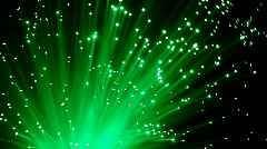 Colorful optic fiber Stock Footage