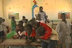 Senegal School 27 - stock footage