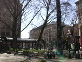 Stock Video Footage of Pioneer Square, Seattle