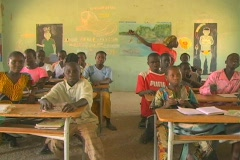 Senegal School 19 - stock footage