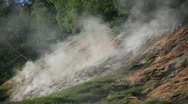 Geysers, volcano Stock Footage