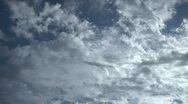 Time Lapse Clouds - Multiple Layers Bidirectional Stock Footage