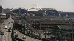 Seattle Waterfront  Stock Footage