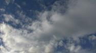 Clouds Time Lapse 1 Stock Footage
