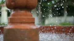 Fountain close-up Stock Footage
