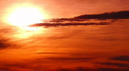 Sunset Time Lapse HS 05 60x Stock Footage