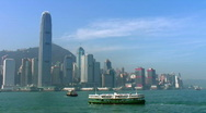 Stock Video Footage of Hong Kong Island