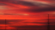 Sunset SD Time Lapse 04 20x VJ  Loop Stock Footage