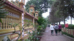 Tran Quoc Pagoda, Hanoi Stock Footage