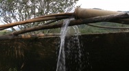 Stock Video Footage of Water is pumped into storage for irrigation, Central Vietnam