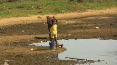 africa water  - stock footage