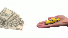 Cash for car - HD Stock Footage