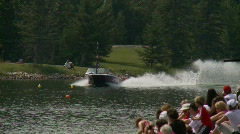 Sports and fitness, water ski competition - #8 Stock Footage