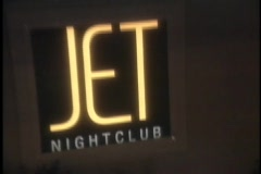 Jet Night Club - Las Vegas Stock Footage