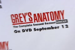 Grey's Anatomy Signage Stock Footage
