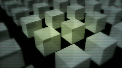 Three-dimensional background with symbol web HD Stock Footage