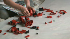 Stock Video Footage of meccano