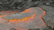 Active lava flow, danger close, #2 Stock Footage