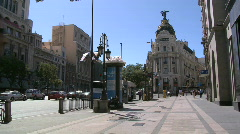 Downton Madrid Stock Footage