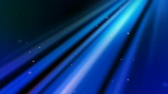 Blinding Heavenly Light Loop with animated stars Stock Footage