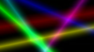 Stock Video Footage of Colored Beams on Black 01 1080p 10s