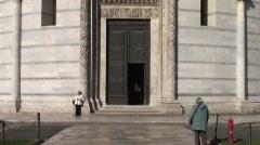 Piazza dei Miracoli - Torre di Pisa Stock Footage