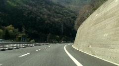 Italian Highway - Autostrada (2) Stock Footage