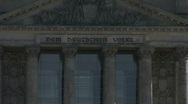 HD1080p Reichstag building in Berlin Stock Footage